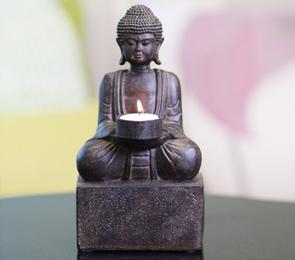 Buddha Tealight Candleholder