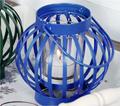 Blue Candle Lantern