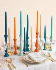 Colored Taper Candles